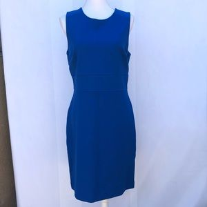 Ann Taylor blue formal career dress size 10